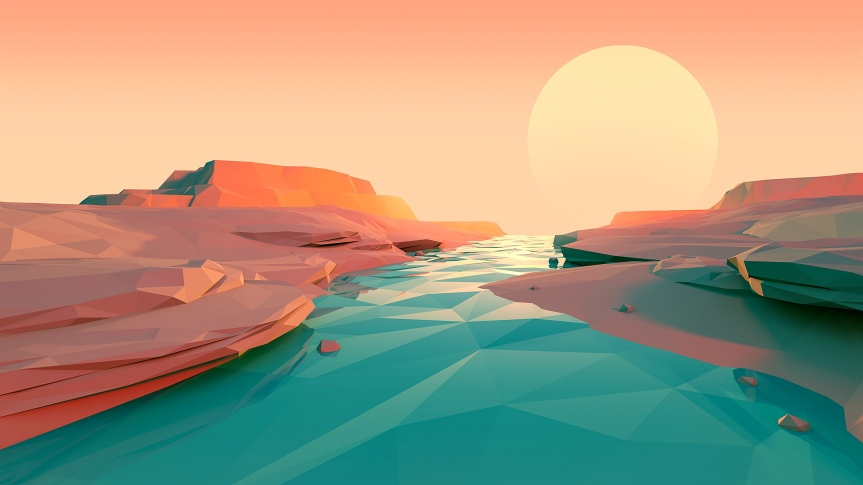 low-poly-artwork